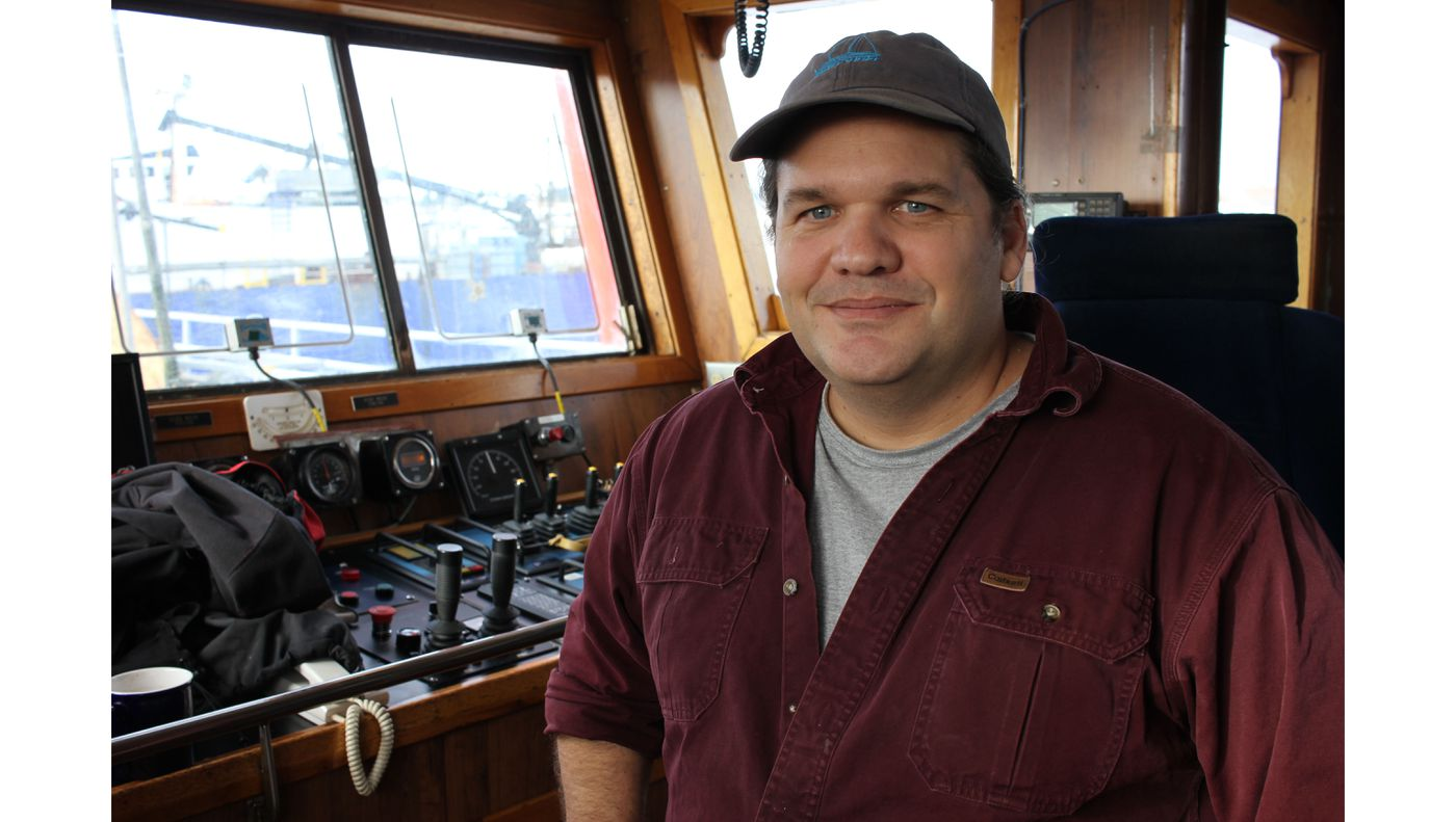 TJ Durnan, captain of the F/V Constellation. Photo by Kirsten Swann/ADN