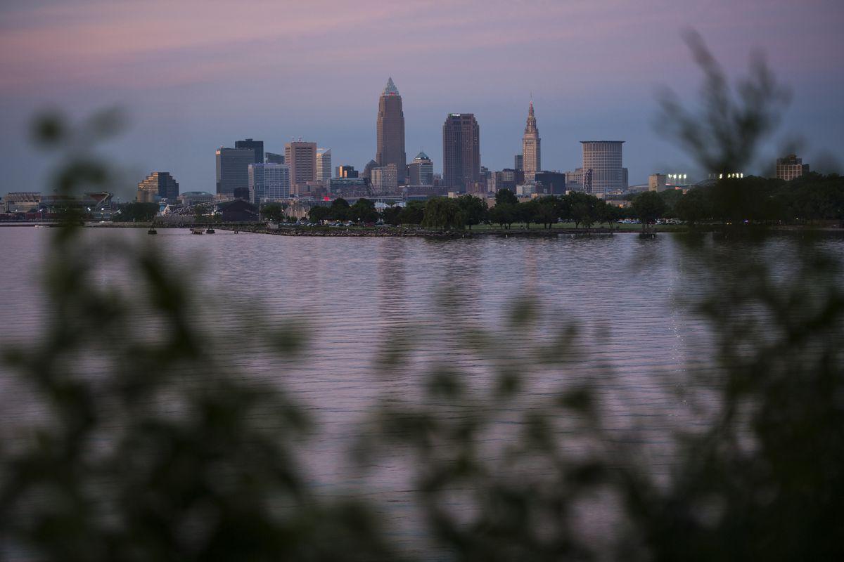 Downtown Cleveland in 2016. (Washington Post photo by Jabin Botsford)