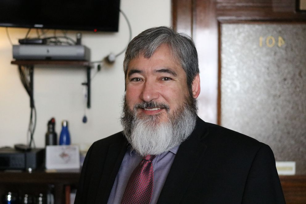 Juneau Democratic Rep. Sam Kito III (Nathaniel Herz / ADN)