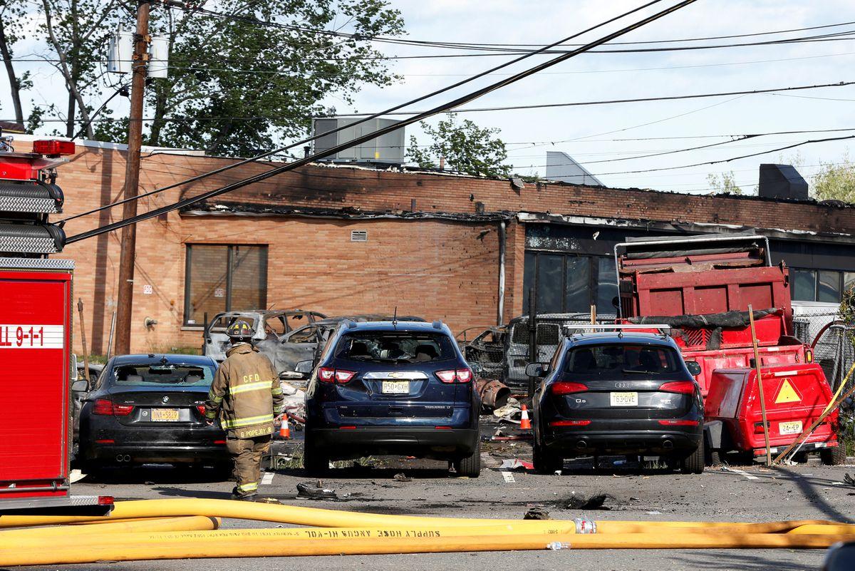 Investigators near Teterboro look into cause