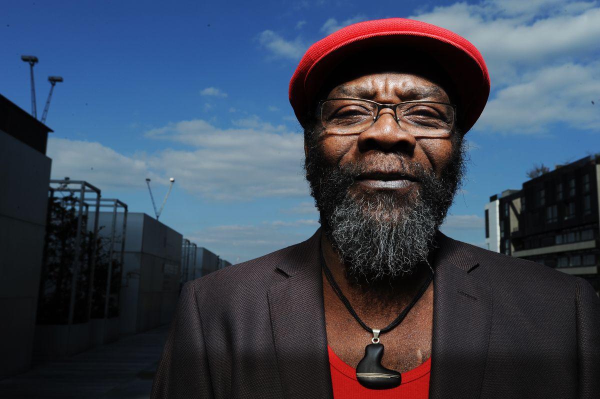 Reggae artist Clinton Fearon (Photo by Bernard Benant)