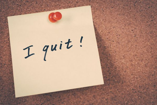 Generic stock image associated with quitting, resigning. (iStock)