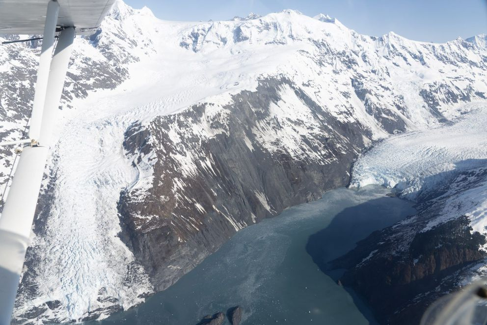 Barry Arm in northern Prince William Sound. (Christian Zimmerman/U.S. Geological Survey)