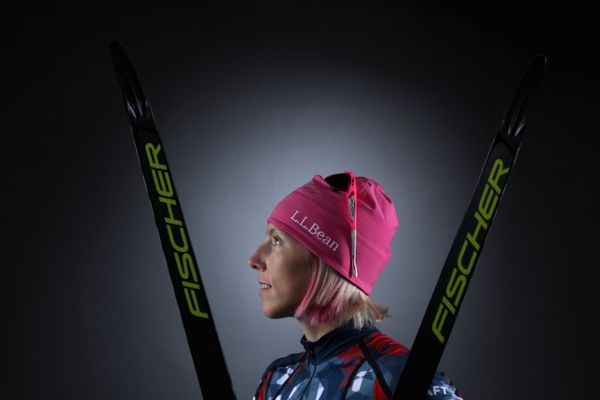 Cross-country skier Kikkan Randall poses for a portrait at the U.S. Olympic Committee Media Summit in Park City, Utah, U.S. September 27, 2017. Lucy Nicholson / REUTERS
