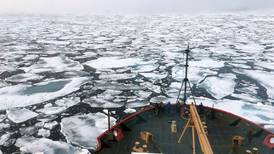 Western Alaska is still a long way from seeing significant Chukchi Sea ice