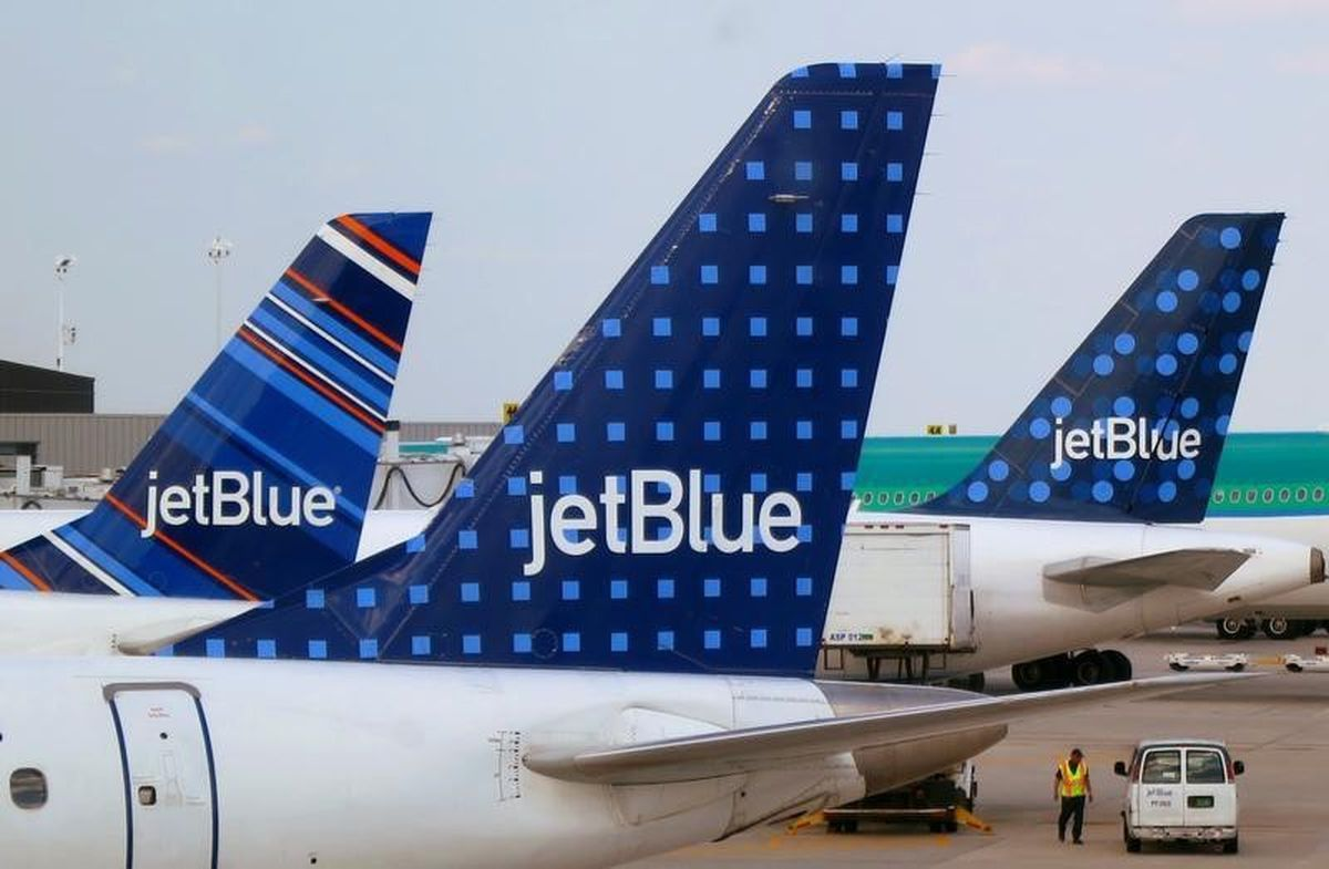 JetBlue Airways will start service from Anchorage to Portland and Seattle on May 25. REUTERS/Fred Prouser/File Photo