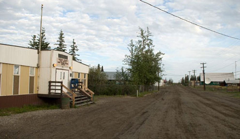 The post office in Fort Yukon. (Stephen Nowers / ADN archive)