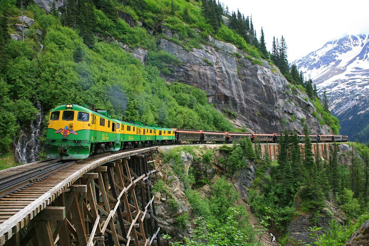 White Pass & Yukon Route railroad. (Photo provided by White Pass & Yukon Route)