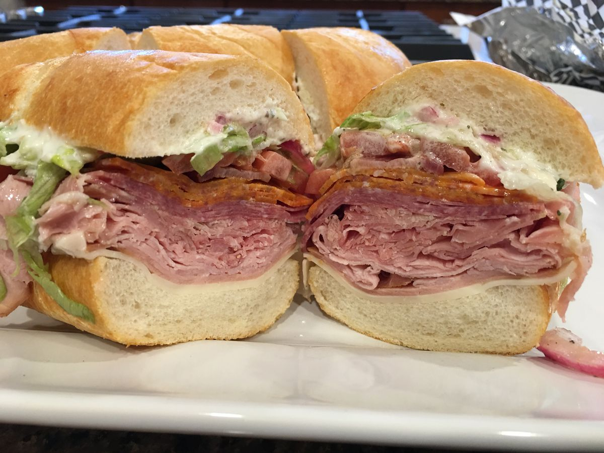 The Superbowl sandwich at MVP Sports Deli and Eatery (Photo by Mara Severin)