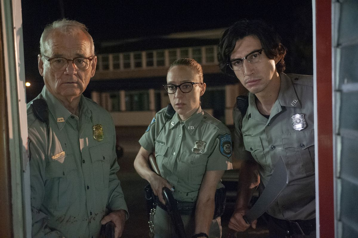From left, Bill Murray, Chloë Sevigny and Adam Driver in director Jim Jarmusch's