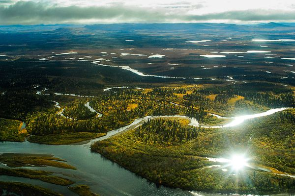The Nushagak watershed in the Bristol Bay region, near where the Pebble mine would operate.