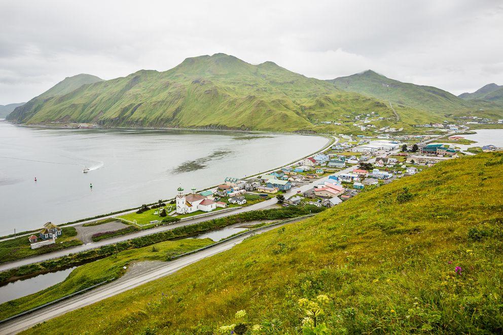Unalaska on Aug. 31, 2012. (Photo by Loren Holmes / ADN)