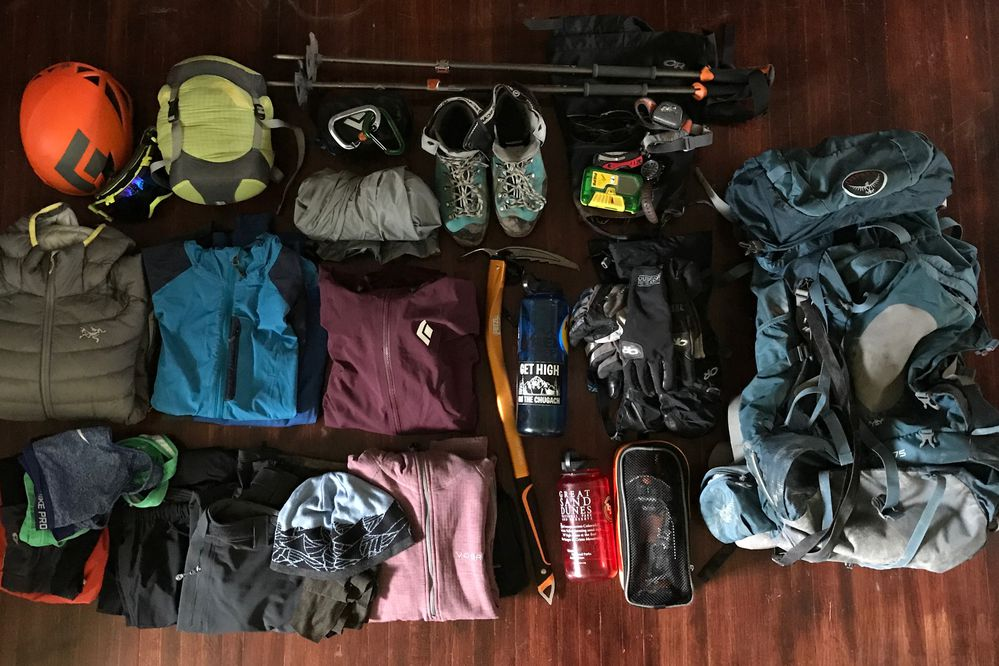 The time when my gear is the most organized is before the start of a trip. After everything's in my backpack, all bets are off. (Vicky Ho / Alaska Dispatch News)