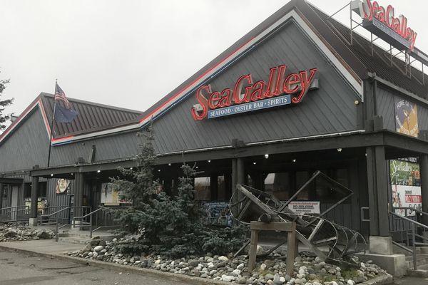 Seafood restaurant Sea Galley in Midtown Anchorage is closing Oct. 21, 2018. (Annie Zak / ADN)