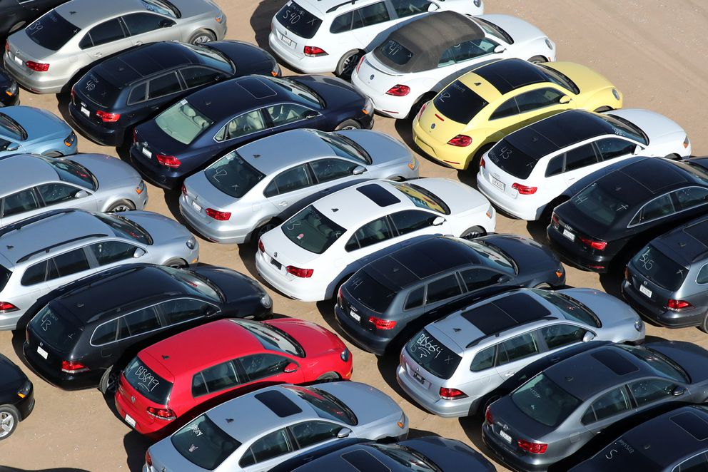 Vw Buyback Program >> What a massive car buyback looks like: Volkswagen's ...