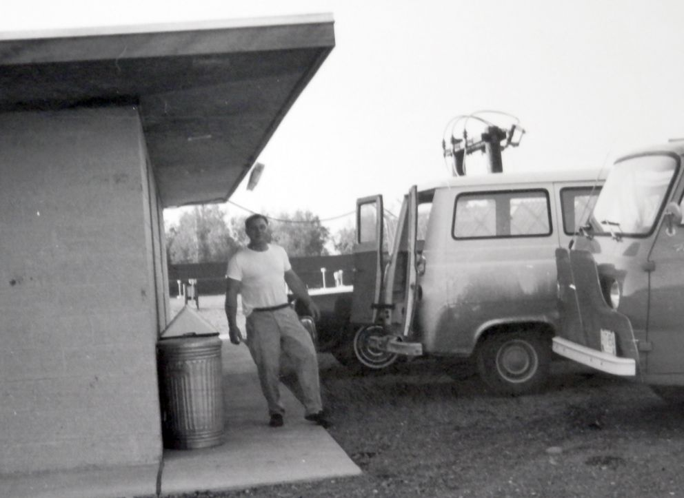 Ed Hanby, owner of the Billiken Drive-in Theater. (Photo by Ed Sharp)
