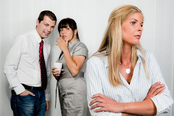 A generic stock image of interpersonal dynamic in the workplace (Brigitte Wodicka / Thinkstock)
