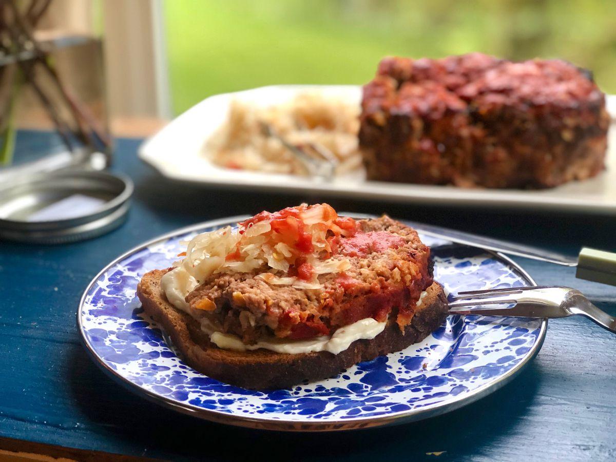 Ultimate meatloaf sandwich (Photo by Kim Sunée)