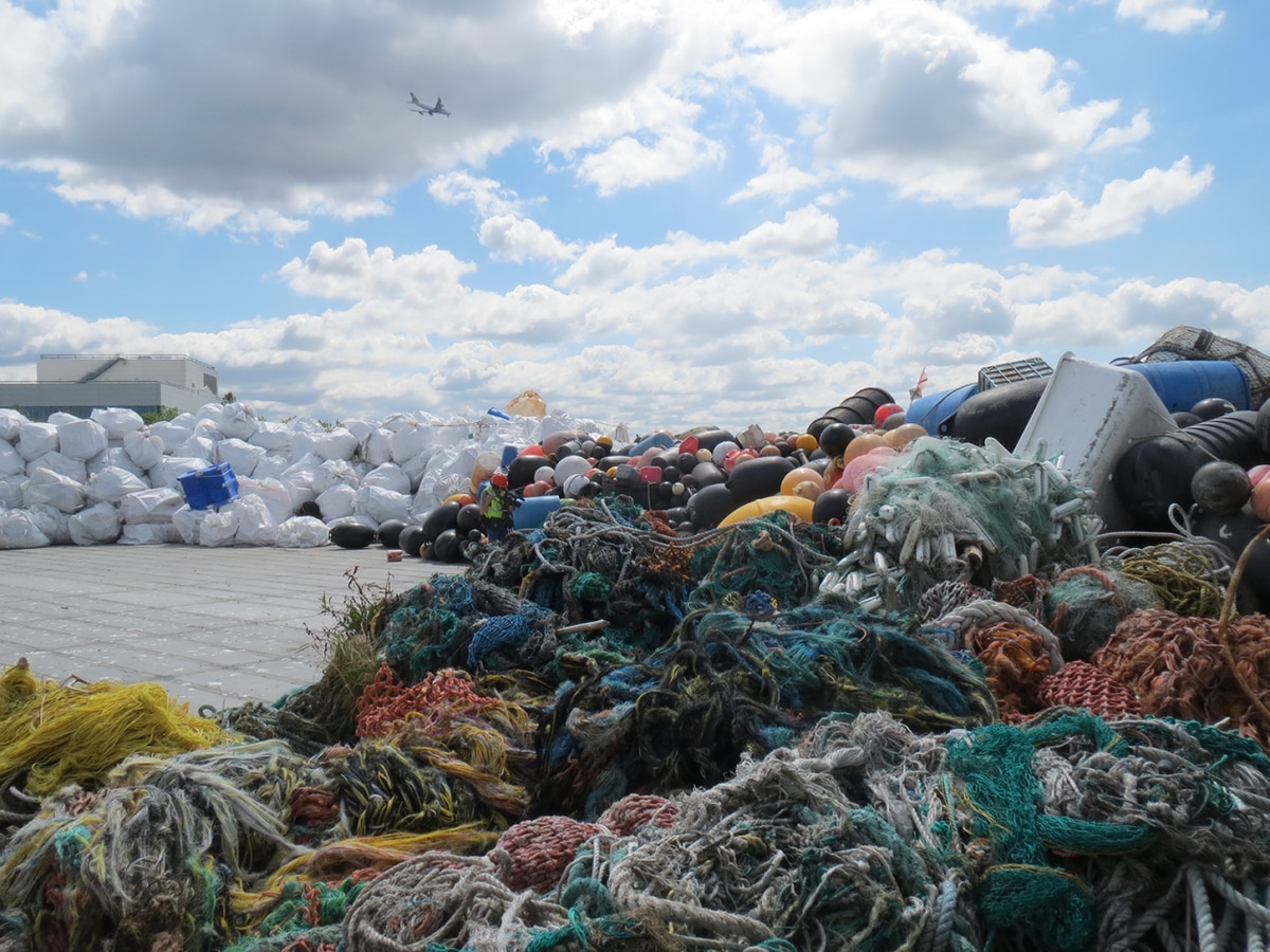 Unalaska sends thousands of pounds of old fishing nets to Denmark for recycling