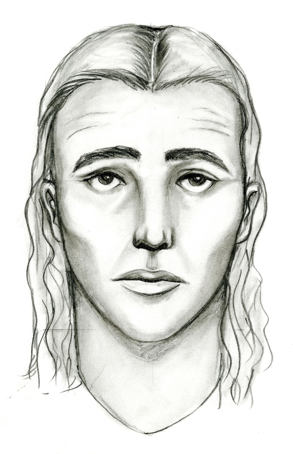 "This police sketch depicts a ""person of interest"" investigators believe may have information in the slaying of Treyveonkindell Thompson in East Anchorage on July 29, 2016. (Courtesy APD)"