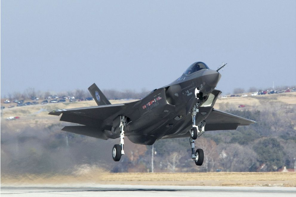 F-35B. The Air Force announced Thursday Aug. 7, 2014 that Eielson Air Force based was the preferred alternative base for Pacific squadrons of the fifth-generation fighter plane. CREATOR Defense Department photo