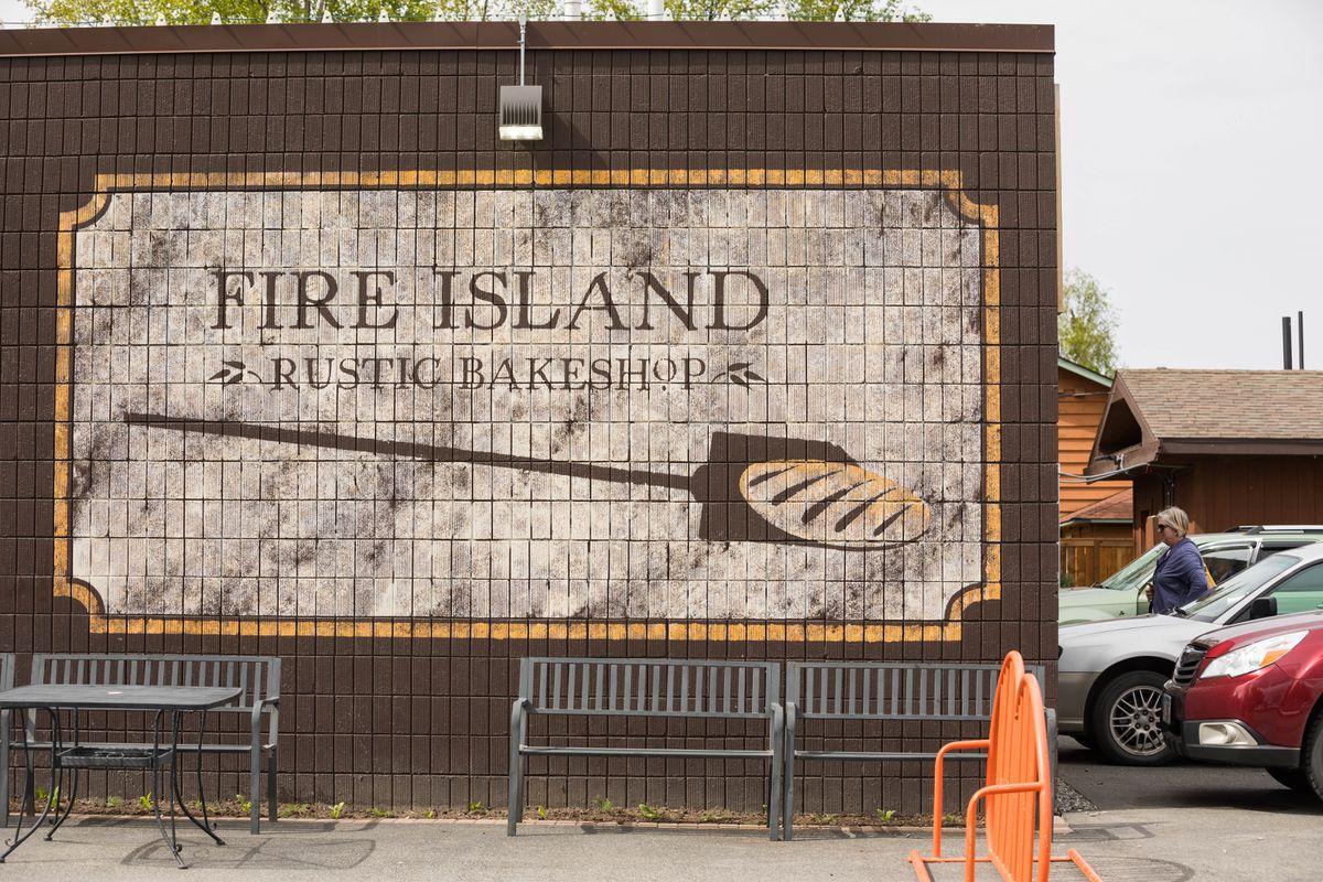 Fire Island Rustic Bakeshop in Airport Heightson Wednesday. (Loren Holmes / ADN)