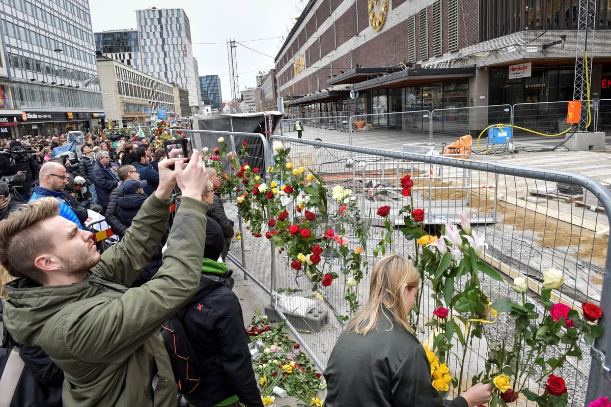 Princess Victoria Breaks Down in Tears While Visiting Stockholm Terrorist Attack Site