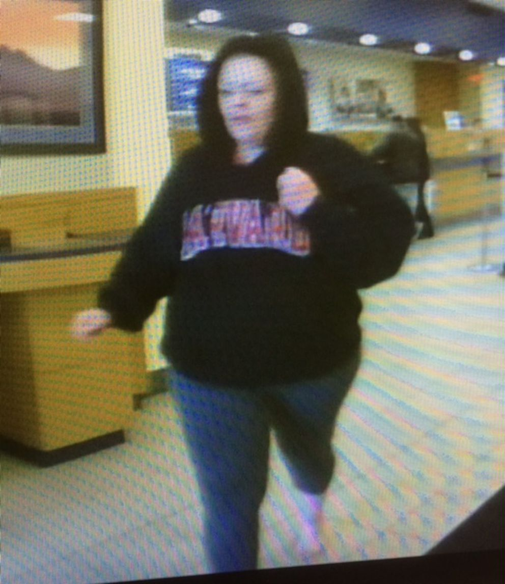 Jennifer Trengove robbed two banks in May 2017. (Photo provided by FBI)