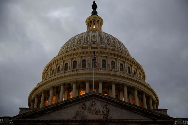 The U.S. Capitol building is lit at dusk in Washington, December 18, 2017. (Joshua Roberts / Reuters file)