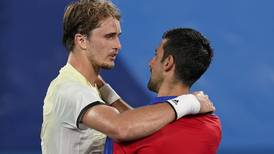 Djokovic's Golden Slam tennis bid is over for this Olympics with 3-set loss to Germany's Zverev