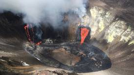 Lava lake forms on Hawaii's Kilauea volcano as it continues erupting after 2-year break