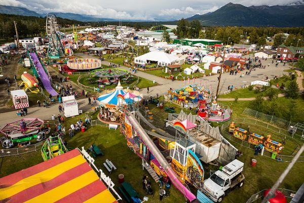 The Alaska State Fair on Aug. 23, 2012. (Loren Holmes / Alaska Dispatch News)