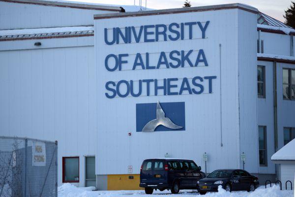 The University of Alaska Southeast in Sitka, Jan 12, 2020. (Anne Raup / ADN)