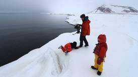 Following Alaska's vanishing ice