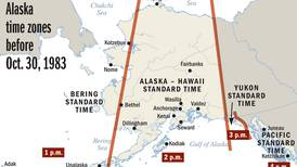 Curious Alaska: The state used to span 4 time zones. What happened?