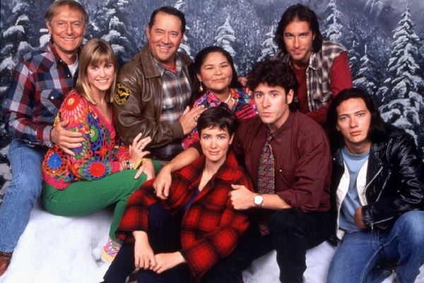 FILE--Members of the 'Northern Exposure' cast are shown in this 1993 file photo. A Superior Court jury ruled Monday, Sept. 26, 1994, that MCA Inc. and its Universal City Studios unfairly helped develop writer Sandy Veith's 1981 script 'Coletta' into what eventually became the CBS hit drama series 'Northern Exposure,' which debuted in July 1990 and the show's distributor must pay him $7.3 million in damages. Both 'Coletta' and 'Northern Exposure,' are about a New York doctor whose medical school tuition is paid for by another party. In 'Coletta' it is the residents of a small town. In 'Northern Exposure' it is the state of Alaska. (AP Photo/CBS, HANDOUT)