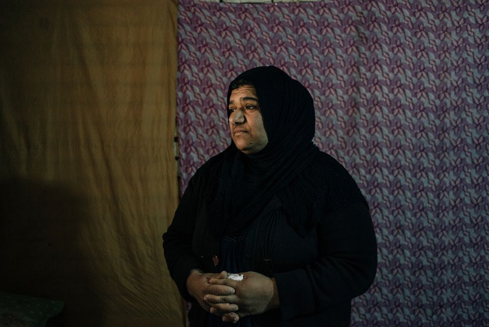 Fadila Abdelaziz Saleh (Photo for The Washington Post by Alice Martins)