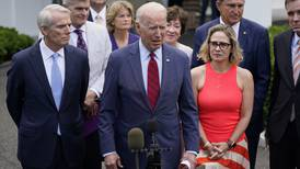 Biden accepts bipartisan deal on infrastructure after meeting with senators