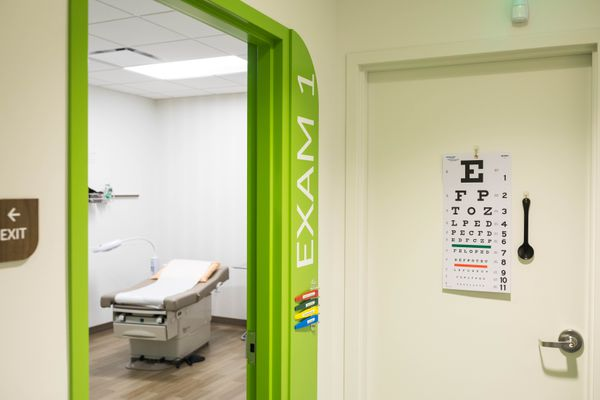 An exam room at the Vera Whole Health clinic in midtown Anchorage Tuesday, Feb. 20, 2018. (Loren Holmes / ADN)