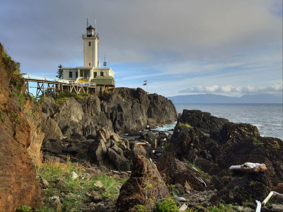 The Cape Decision Lighthouse sits on the southernmost point of Kuiu Island. (Joe Wilson)