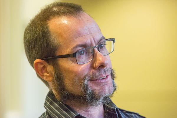 Michael Crites was arraigned on the same day as Greene and Burns . (Loren Holmes / Alaska Dispatch News)