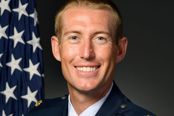 Maj. Michael Gentry, 354th Contracting Squadron commander, was fatally struck by a vehicle Saturday, Aug. 1, 2020. Photo courtesy of Eielson Air Force Base.