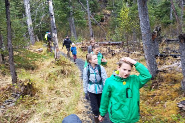 Ptarmigan Creek Trail begins at Ptarmigan Creek Campground and is an excellent choice for hiking families. (Erin Kirkland)