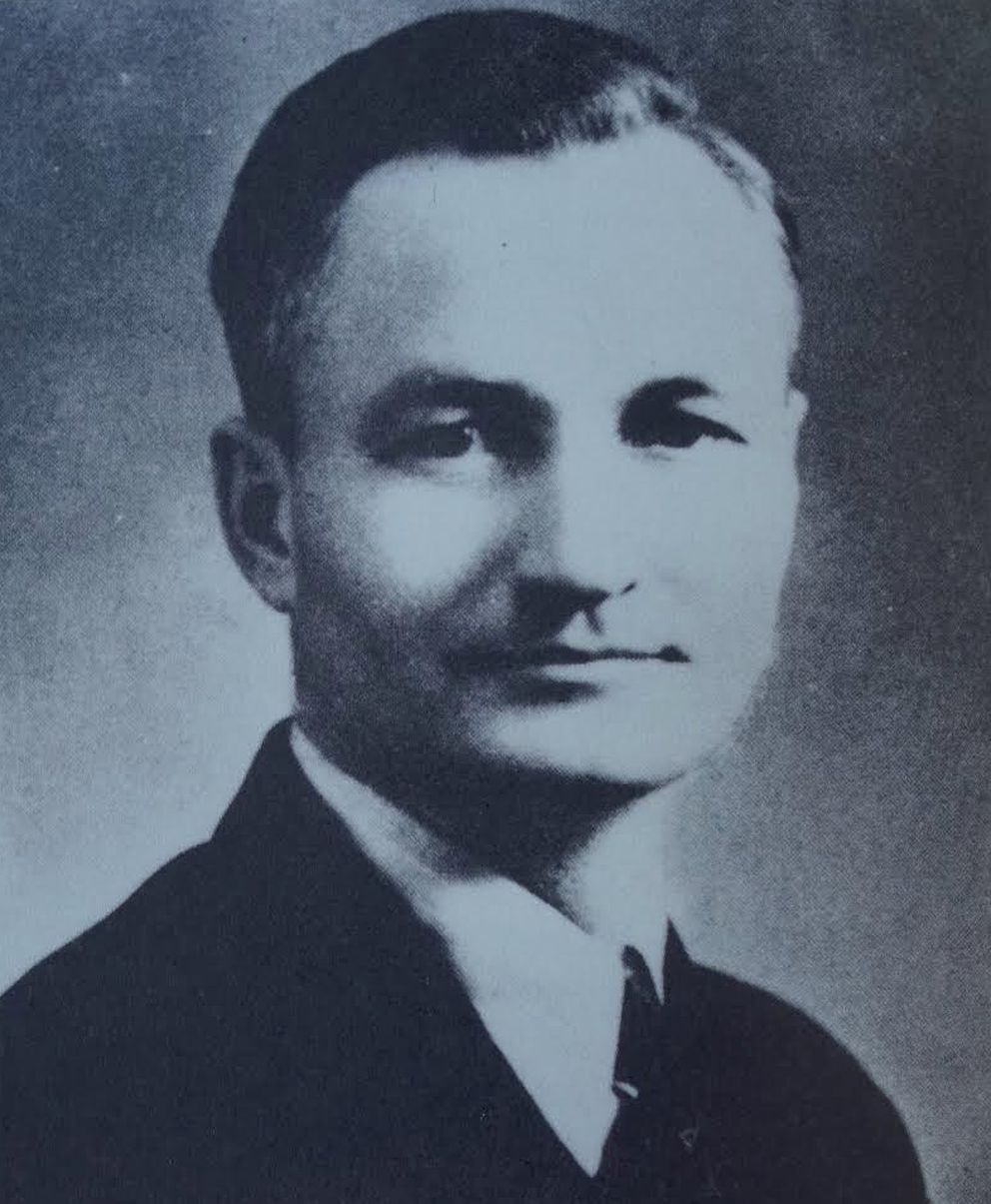 Veryl Fuller, the University of Alaska's first scientist to study the aurora, in a portrait from the 1936 university yearbook. (Courtesy Ned Rozell)