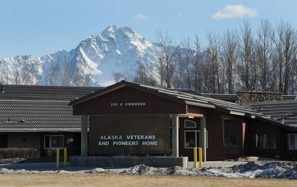 The Alaska Veterans and Pioneers Home in Palmer on Tuesday, April 11, 2017. (Bill Roth / ADN)