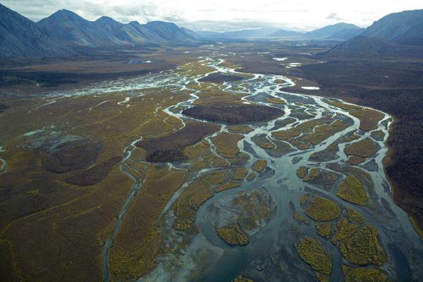 In an undated photo, a portion of the the Arctic National Wildlife Refuge. Environmental activists and their allies in Congress are on the cusp of forever losing the decades-long political battle over the refuge as an effort to open up the reserve to oil and gas drilling is working its way through Congress in 2017. (U.S. Fish and Wildlife Service via The New York Times)