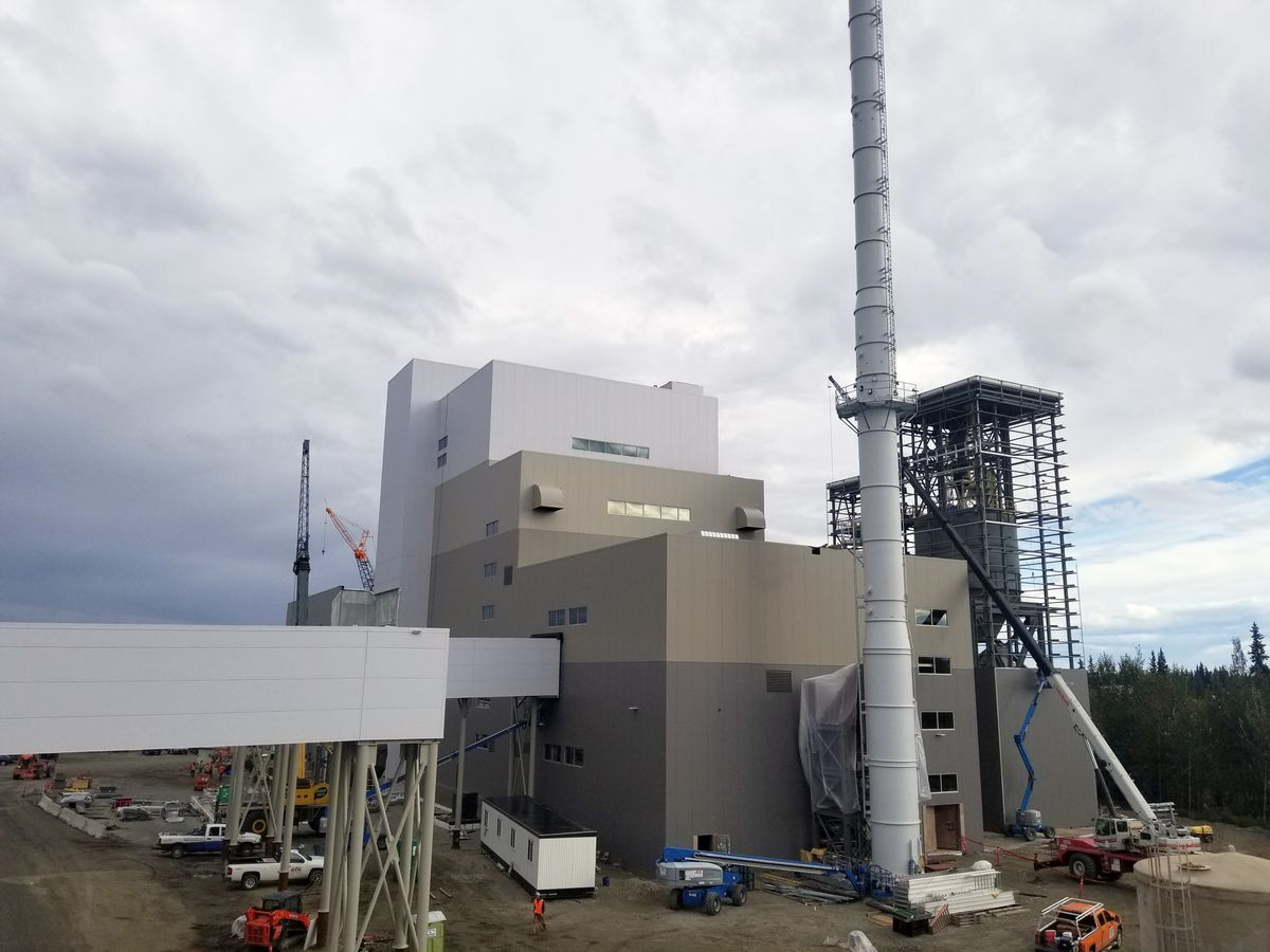 The University of Alaska Fairbanks is building a coal-fired 17-megawatt power plant. (University of Alaska Fairbanks)
