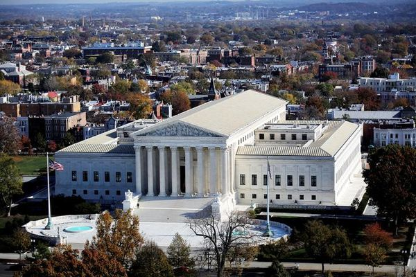 FILE PHOTO: A general view of the U.S. Supreme Court building in Washington, DC, U.S., November 15, 2016. REUTERS/Carlos Barria/File Photo