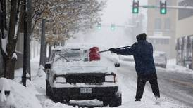 Wintry storm ices roads in US Southeast
