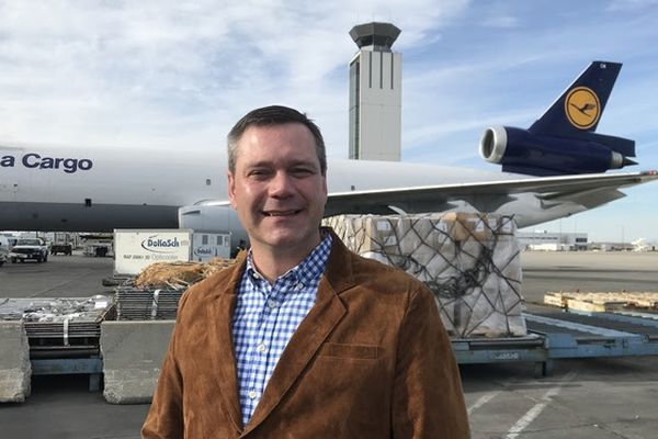 Jim Szczesniak has been named by Gov. Bill Walker as the new manager of the Ted Stevens Anchorage International Airport, Jan. 2018. (Photo provided by Alaska DOT)